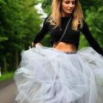 【チュールスカートの着こなし】トレンドアイテムを取り入れたいっ♥のサムネイル画像