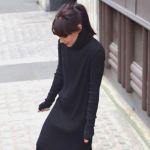 黒ワンピースのコーディネートをご紹介!どんな着こなしもできるのサムネイル画像