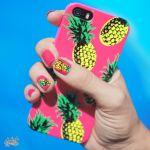 夏を先取り!真似したくなる、パイナップルネイルがかわいい♡のサムネイル画像