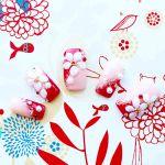 桜の季節にぴったり♥しっとり大人な『和』ネイルはいかが?のサムネイル画像