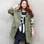 春秋ミリタリージャケットはレディースカジュアルコーデにおすすめ!のサムネイル画像