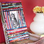 身の回りの身近な素材を使って写真たてを手作りしてみよう!のサムネイル画像