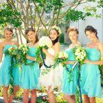 日本でもじわじわ人気!ブライズメイドのお揃いドレスが超可愛い♡のサムネイル画像