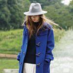 デートにも活躍♡レディースのロングダッフルコートが大人可愛い♡のサムネイル画像