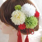 特別な日の準備は出来ている?着物にピッタリの髪飾りカタログ♡のサムネイル画像