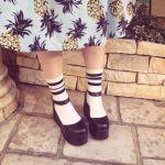 春夏、お洒落は足元から♡持っておくべき黒の厚底サンダル特集のサムネイル画像