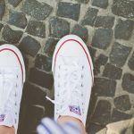 【コンバース白スニーカー】コンバースならやっぱり白がかわいい!のサムネイル画像