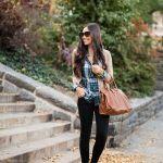 【レディース編】黒のスキニーパンツは万能ファッションアイテム♡のサムネイル画像