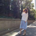 次のトレンド!スカーチョととろみ素材パンツのはきこなし方のサムネイル画像
