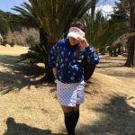 春夏ゴルフは長袖ポロシャツがかわいいレディースウェアコーデのサムネイル画像