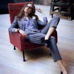 いろいろなデザインに海外セレブも☆パンツスーツファッション画像☆のサムネイル画像