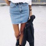 今季のオシャレボトムはデニムスカートで決まり♥ 楽しくコーデを!のサムネイル画像