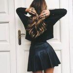 トレンドのレザースカートはカジュアルコーデに落とし込むのがカギ♥のサムネイル画像