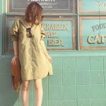 人気上昇中!!春はかわいいシャツワンピでお出かけしよう♪のサムネイル画像