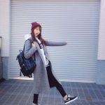 【レディース編】グレーのチェスターコートのコーデが可愛い♡のサムネイル画像