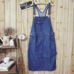 春夏はデニムのサロペットスカートが使える♡大人可愛いコーデまとめのサムネイル画像