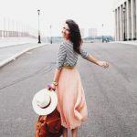 春はロングスカートが大活躍♡おしゃれに着こなしましょう♡のサムネイル画像