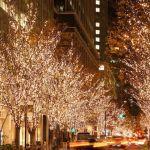 ロマンチック!あちこちの素敵なクリスマスのイルミネーションのサムネイル画像