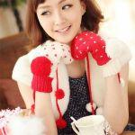 冬には欠かせない!可愛い「手袋」をつけてポカポカあったかく♪のサムネイル画像
