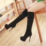 【本革のロングブーツ】ブーツを新調するならロング丈でっ♡のサムネイル画像