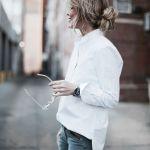 デイリーからビジネスシーンまで♪大切に着たいブランドの白シャツ♡のサムネイル画像