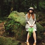 どこのブランド?ゆるっとふんわり可愛い森ガールコーデの作り方のサムネイル画像