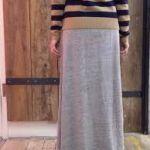 カジュアルの定番アイテムは、スウェット生地のロングスカート♡のサムネイル画像