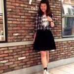 可愛い女の子は、チェックシャツとスカートの組み合わせで作ろう♡のサムネイル画像