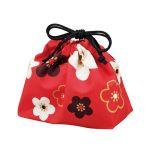 小物を入れたりお弁当を入れたり…使い方色々♪かわいい巾着袋のサムネイル画像