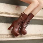 茶色のブーツはオシャレなファッションアイテム♡コーデを可愛く♡のサムネイル画像