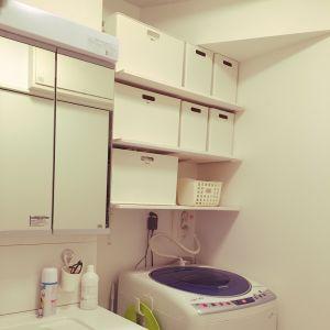 狭~い洗面所にこそ作ろう!棚を使った収納で快適空間にチェンジのサムネイル画像