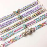 刺繍糸を使ってミサンガを編んでみませんか?おしゃれ女子注目のサムネイル画像