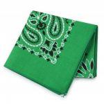 バンダナ特集♪模様も豊富♪カラーは緑です!コーデはどうする?のサムネイル画像