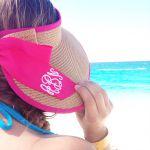 【サンバイザーのかぶり方】夏の日焼けを防いでくれる強い味方♡のサムネイル画像