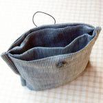 思ってたより簡単に手作りできます。バッグインバッグの作り方のサムネイル画像