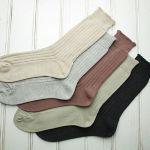 【敏感肌】天然素材にこだわる人はやっぱり綿100%の靴下!!のサムネイル画像