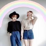 オシャレをレッツ更新♥色落ちジーンズのトレンドコーデまとめ!のサムネイル画像