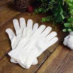 紫外線が強くなるこれからの季節におすすめしたいUVカットの白の手袋のサムネイル画像