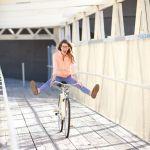 【カジュアルサイクルウェア】おしゃれな自転車ファッション♡のサムネイル画像