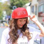 暑さに負けない!元気カラーNo.1『赤』で夏キャップを楽しもう!のサムネイル画像