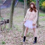【トレンチコート×スカート】で女性らしいコーディネートにする♡のサムネイル画像