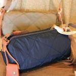 重たい荷物もレディースのナイロン素材のショルダーバッグで解決☆のサムネイル画像