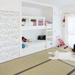 地味になりがちな畳の和室を、可愛くおしゃれな子供部屋に大変身♪のサムネイル画像