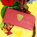 【カラー別】スリムで使いやすい!おすすめのl字ファスナーの財布のサムネイル画像
