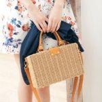 もう手に入れた?夏の必携、シンプルめのカゴバッグで軽やかコーデのサムネイル画像