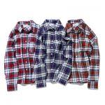 チェックシャツを使いこなす技。腰巻チェックシャツがオシャレのサムネイル画像