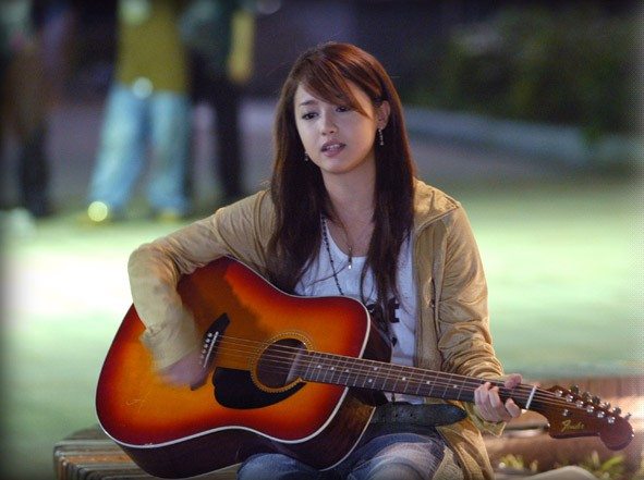 ギターと沢尻エリカ