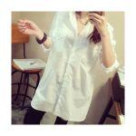 【着回し力抜群】夏のコーデは白のロングシャツがないと始まらない!のサムネイル画像