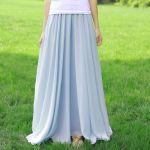 夏はマキシ丈が可愛い♡マキシ丈スカートで作る大人可愛いコーデのサムネイル画像