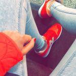 【ニューバランス×オレンジ】夏ファッションにぴったりのチョイス♡のサムネイル画像